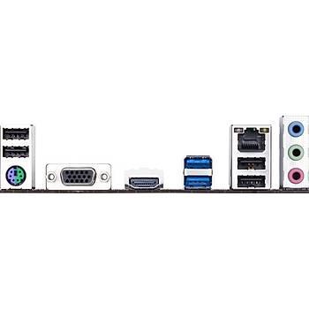 GIGABYTE H310M H 2.0 DDR4 2666/2133Mhz mATX 1151p