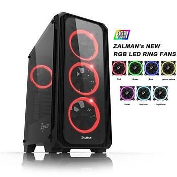Zalman Z7 NEO Mid Tower RGB Kasa Siyah PSU YOK