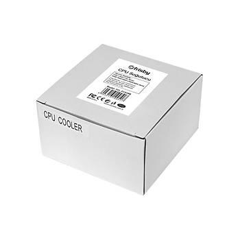 FRISBY FCL-F1310B 4 LED ÝNTEL CPU SOÐUTUCU