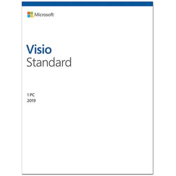 MICROSOFT VISIO STANDART 2019 - ESD D86-05822