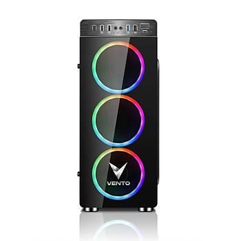 VENTO VG05F  3X120MM RGB FAN 500W 80 PLUS GAMING MIDI TOWER KASA