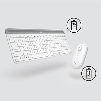 Logitech MK470 Klavye Mouse Kablosuz 920-009436 BY