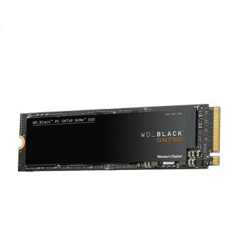 500GB WD BLACK SN750 M.2 NVMe 3430/2600MB/s WDS500G3X0C SSD