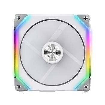 LIAN LI UNI FAN SL120 WHITE 3x120 MM RGB BEYAZ MODÜLER KASA FANI