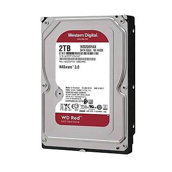 WD RED 3,5 2TB 64MB 5400RPM WD20EFAX