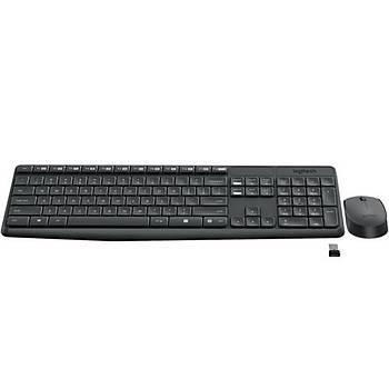 Logitech MK235 Klavye Mouse Kablosuz 920-007925
