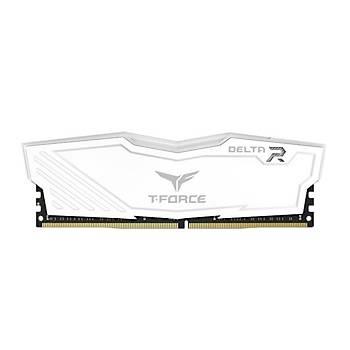 16 GB DDR4 3200 Mhz T-FORCE DELTA RGB WHITE 8GBx2