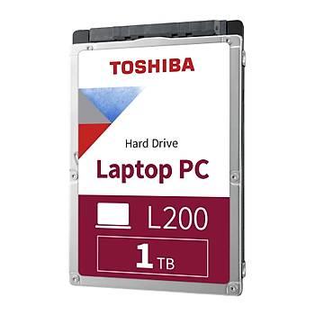 """1TB TOSHIBA 2.5"""" L200 5400RPM 128MB HDWL110UZSVA"""