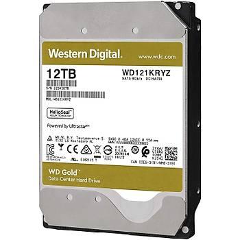 12TB WD GOLD ENTERPRISE 7200RPM SATA3 256MB WD121KRYZ