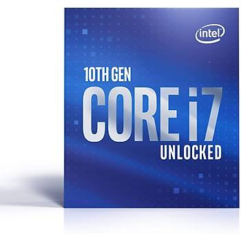 INTEL CORE i7-10700K 3.80Ghz 16MB 1200p 10.Nesil