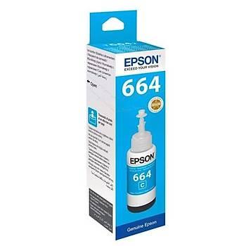 Epson C13T66424A Ink bottle T6642 Mavi Eco Tank