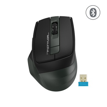 A4 TECH FB35 OPTIK MOUSE BLUETOOTH+NANO USB YEÞÝL