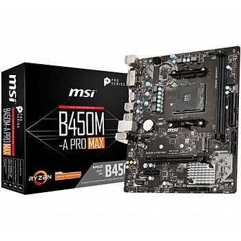 MSI B450M-A PRO MAX DDR4 3466Mhz S+V+GL AM4