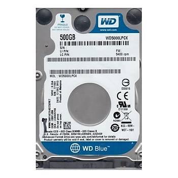WD BLUE 2.5 500GB 32MB 5400RPM WD5000LPCX