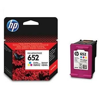 HP F6V24A CMY KARTUÞ NO:652 YAKLAÞIK 200 SAYFA (1115-2135-3635-3835-4535-4675)