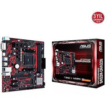 ASUS B450M DRAGON AMD B450 SOKET AM4 DDR4
