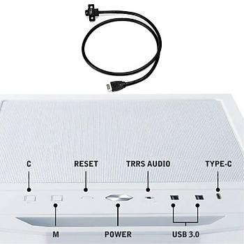 LIAN LI LANCOOL II -4X USB 3.1 TYPE-C KABLO