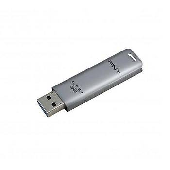 32 GB USB 3.1 PNY ELITE STEEL USB FLASH BELLEK