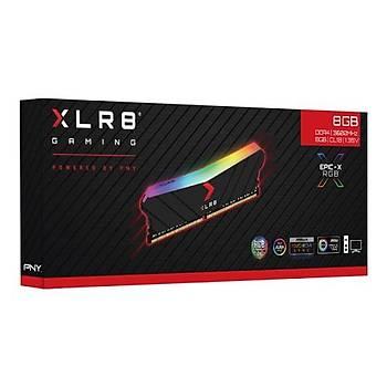 8 GB DDR4 3600 Mhz PNY XLR8 EPIC-X RGB (8GBx1)