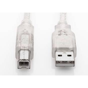 S LINK SL-U2010 USB 2.0 10M ÞEFFAF YAZICI KABLOSU