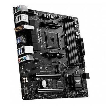 MSI B450M BAZOOKA MAX WIFI DDR4 DVI HDMI  mATX AM4