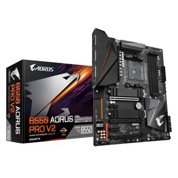 GIGABYTE B550 AORUS PRO V2 DDR4 5200(OC) HDMI AM4