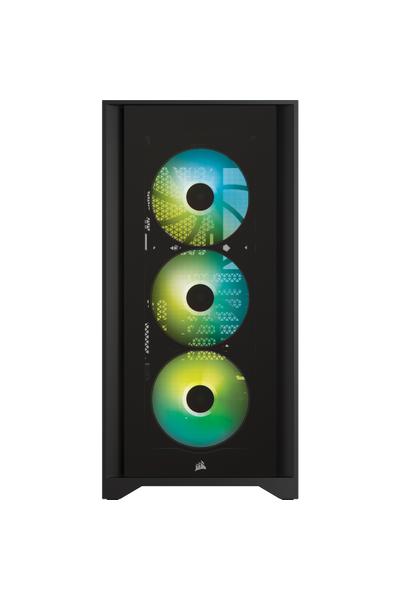 CORSAIR 4000X iCUE RGB CC-9011204-WW BLACK KASA
