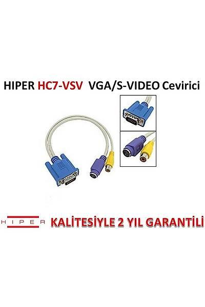 HIPER HC7-VSV VGA/S-VIDEO ÇEVÝRÝCÝ