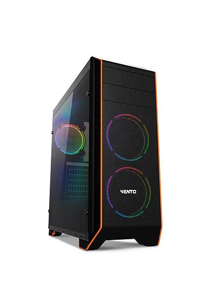 ASUS VENTO VG06F 3X120MM RGB FAN GAMING MIDI TOWER KASA (PSU YOK)
