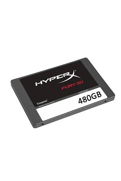 480GB HYPERX FURY 3D 500/500MBs SSD KC-S44480-6F