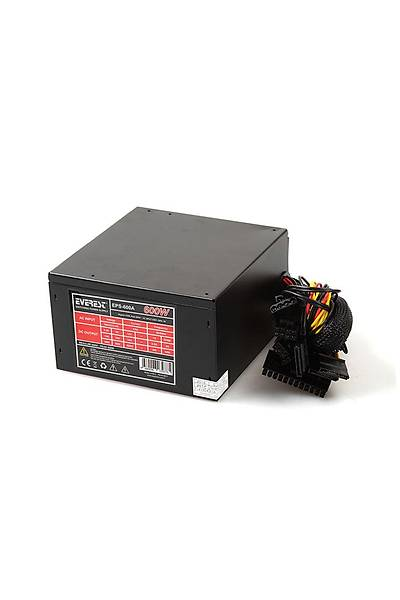 EVEREST EPS-600A600W 12CM FANLI POWER SUPPLY