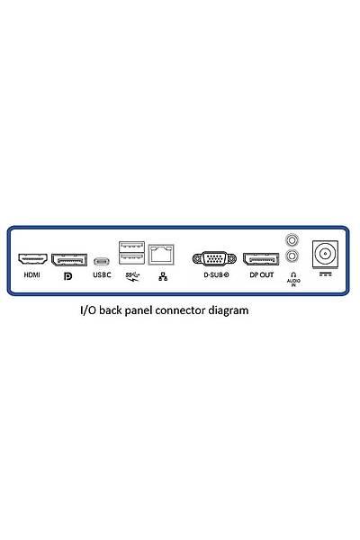 23.8 PHILIPS 241B7QUPBEB IPS FHD 75HZ 1MS USB-C DP