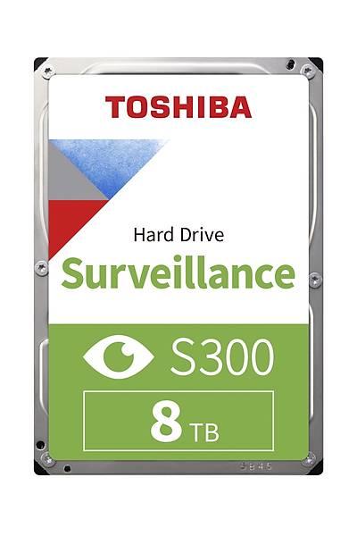 8TB TOSHIBA 7200RPM S300 SATA3 256MB 7/24 HDWT380UZSVA
