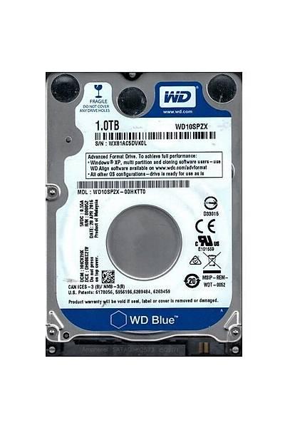"""1TB WD 2.5"""" BLUE SATA 128MB 5400Rpm 6Gb/S WD10SPZX"""
