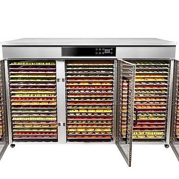 Dalle LT-021 Dijital 60 Tepsili Paslanmaz Çelik Meyve Sebze Kurutma Makinesi