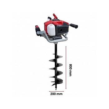 Tomking EA52P Toprak Burgu Makinasý 200 mm