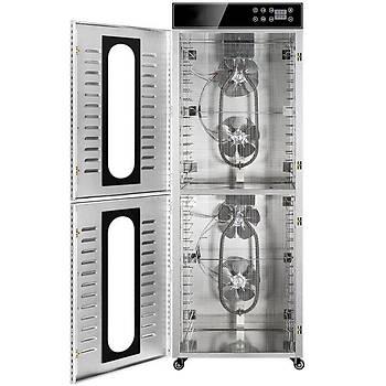 Dalle LT-105 Dijital 32 Tepsili Paslanmaz Çelik Meyve-Sebze Kurutma Makinesi