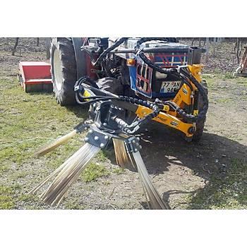 Kadýoðlu Traktör Önü Dal Süpürge Makinesi 1 Yönlü