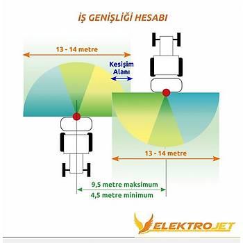 Kadýoðlu Elektrojet - 2 Yön 4 Çýkýþ Zeytin - Meyve Modeli Pulverizatörü