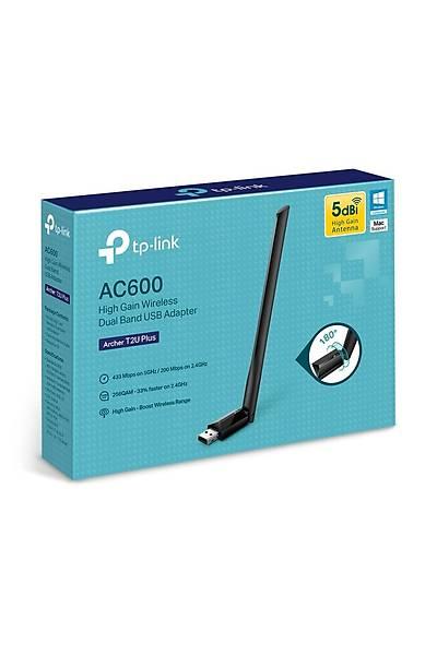 Tp-Link Archer T2U PLUS 600Mbps USB Adaptör