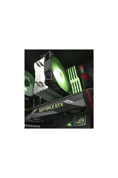 Reeven E12 120 mm RGB Intel ve AMD Uyumlu Ýþlemci Soðutucusu