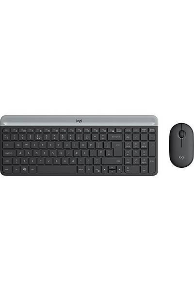 Logitech MK470 Ýnce Kablsz Klavye Mouse 920-009435