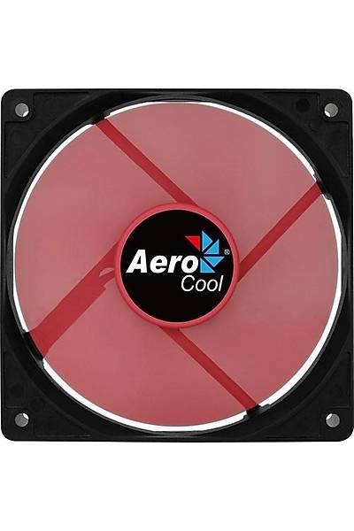 Aerocool AE-CFFR120RD 12cm Kýrmýzý Sessiz Fan