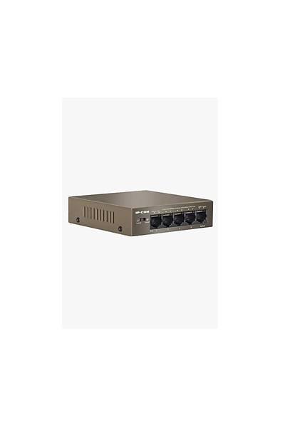 IP-COM F1105P 5 Port Yönetilemez 4 PoE Switch