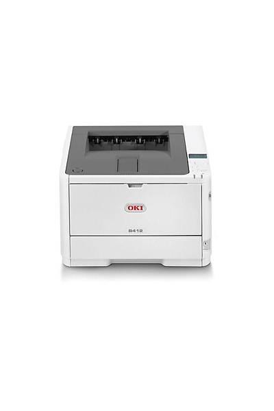 OKI B412DN Mono Laser USB Yazýcý 33 ppm