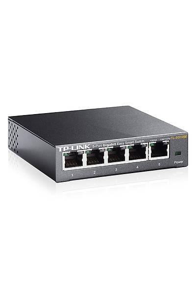 Tp-Link TL-SG105E 5 Port Gigabt Easy Smart Switch*