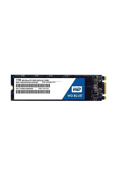 WD 1TB Blue 560/530MB M.2 Sata WDS100T2B0B