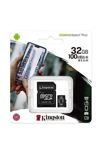 Kingston 32GB Micro SDHC Canvas 100MB/s SDCS2/32GB