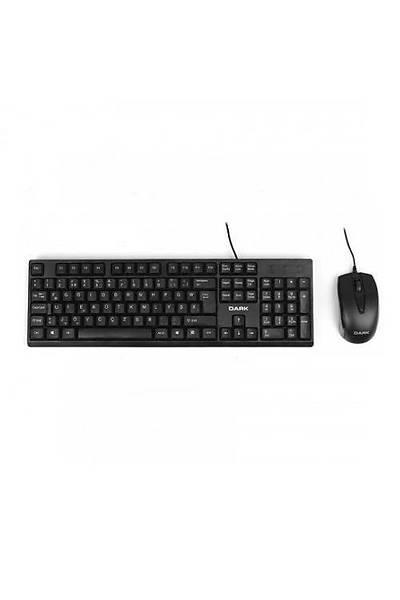 Dark DK-AC-KM1020F USB F Siyah Klavye&Mouse Set