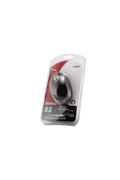Everest KM-6809 Usb Siyah Mavi Iþýklý Optik Mouse